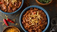 Hearty and Heart-Healthy Cherry Chipotle Chicken Chili