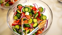 Cooking for Heart Health Month: Greek Village Salad
