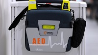 New Defibrillator Unveiled by Man Who was Saved by One