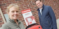 Barrie Family Installs AED on Side of Home for Public Use